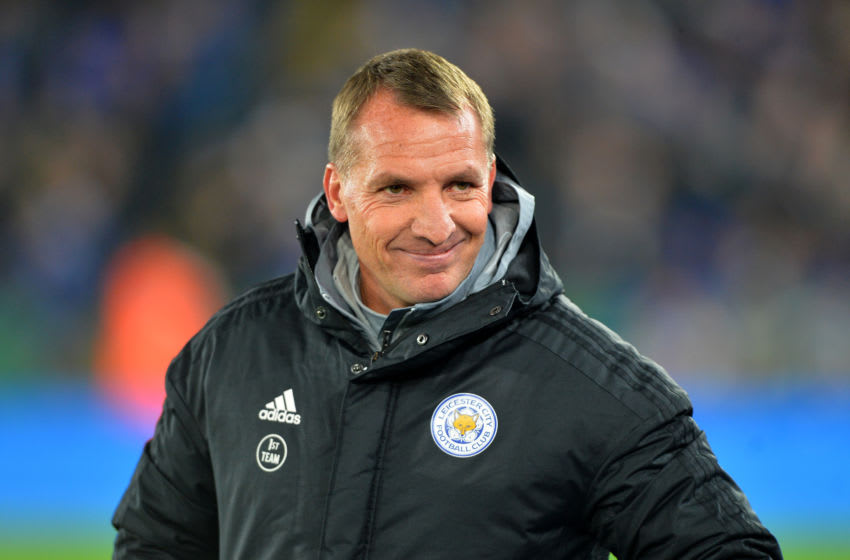 Leicester City, Brendan Rodgers (Photo by Plumb Images/Leicester City FC via Getty Images)