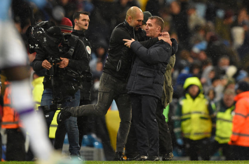 Manchester City's Pep Guardiola (Photo by OLI SCARFF/AFP via Getty Images)