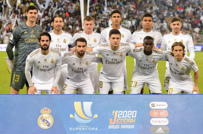 Real Madrid (Photo by FAYEZ NURELDINE/AFP via Getty Images)