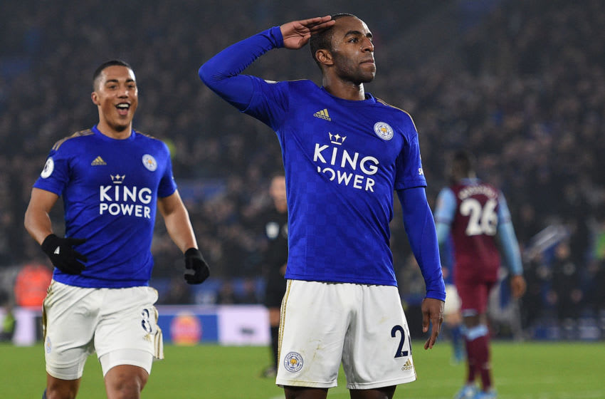 Leicester City's Ricardo Pereira (Photo by OLI SCARFF/AFP via Getty Images)