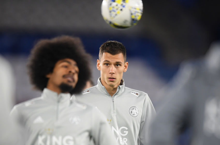 Filip Benkovic of Leicester City (Photo by Michael Regan/Getty Images)