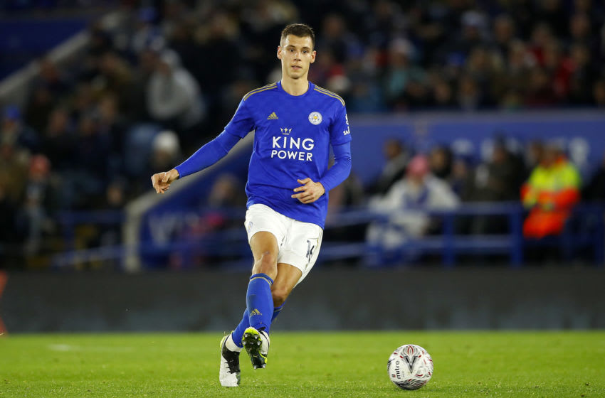Filip Benkovic of Leicester City (Photo by Malcolm Couzens/Getty Images)