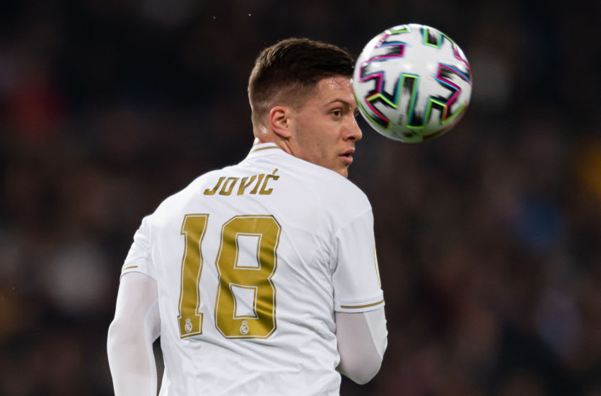 Luka Jovic of Real Madrid (Photo by DeFodi Images via Getty Images)
