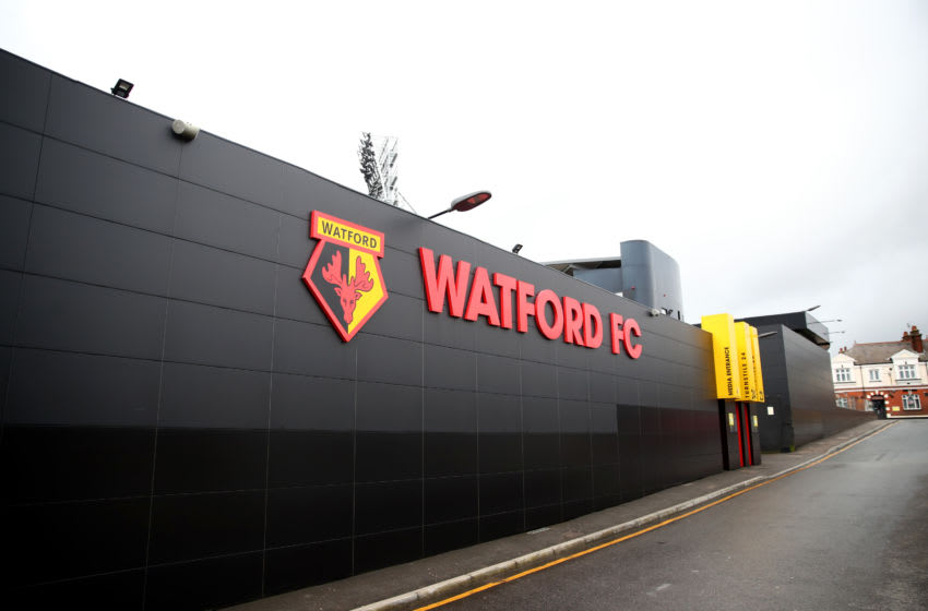 Vicarage Road, Watford FC (Photo by Marc Atkins/Getty Images)