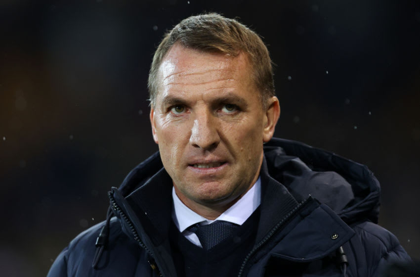 Brendan Rodgers of Leicester City (Photo by Julian Finney/Getty Images)