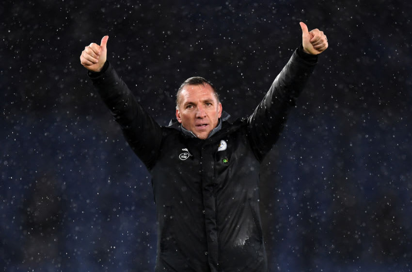 Brendan Rodgers, Leicester City (Photo by Michael Regan/Getty Images)