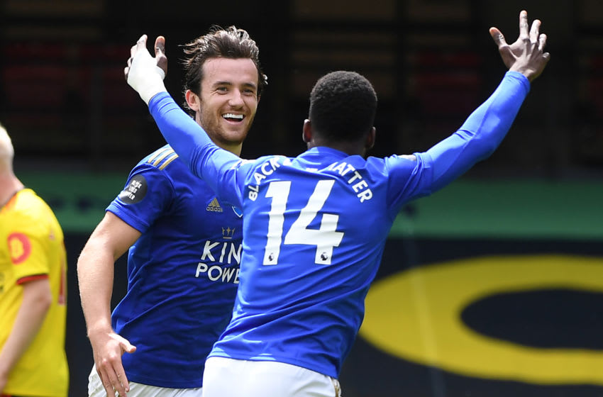 Leicester City's Ben Chilwell (Photo by ANDY RAIN/POOL/AFP via Getty Images)