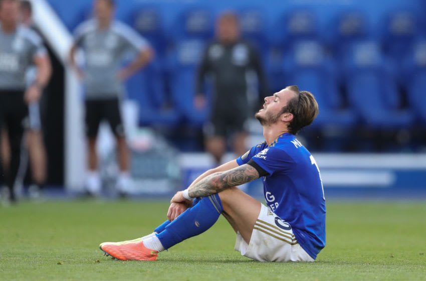 James Maddison of Leicester City (Photo by James Williamson - AMA/Getty Images)
