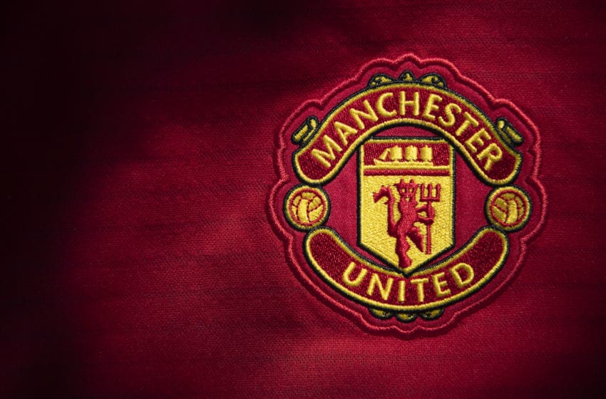 Manchester United crest (Photo by Visionhaus)