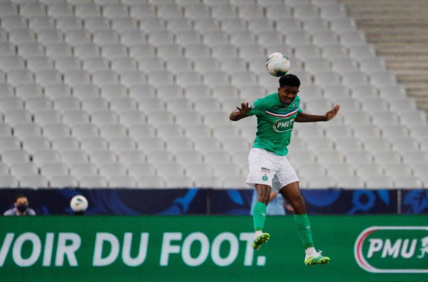Saint-Etienne's Wesley Fofana (Photo by GEOFFROY VAN DER HASSELT/AFP via Getty Images)
