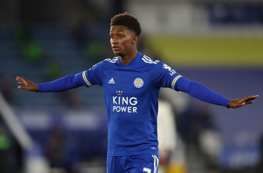 Demarai Gray of Leicester City (Photo by James Williamson - AMA/Getty Images)