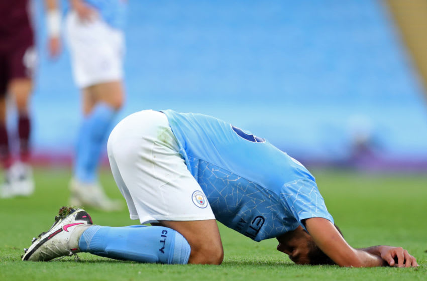 Manchester City's Rodri (Photo by CATHERINE IVILL/POOL/AFP via Getty Images)