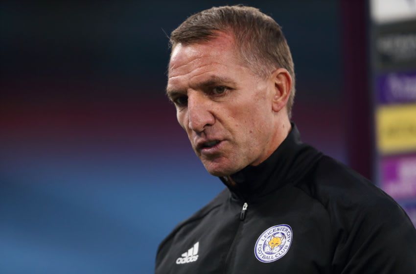 Brendan Rodgers of Leicester City (Photo by James Williamson - AMA/Getty Images)