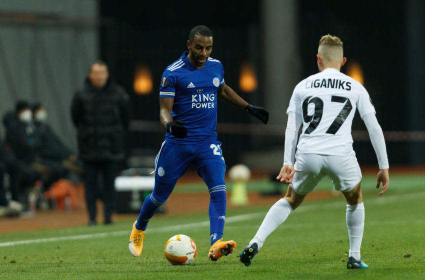 Ricardo Pereira of Leicester City (Photo by Stanislav Vedmid/DeFodi Images via Getty Images)