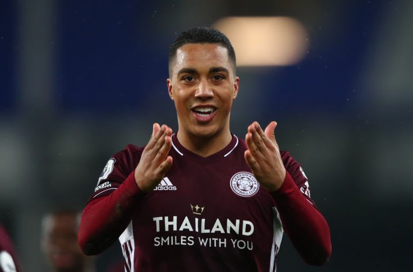 Youri Tielemans of Leicester City (Photo by Marc Atkins/Getty Images)