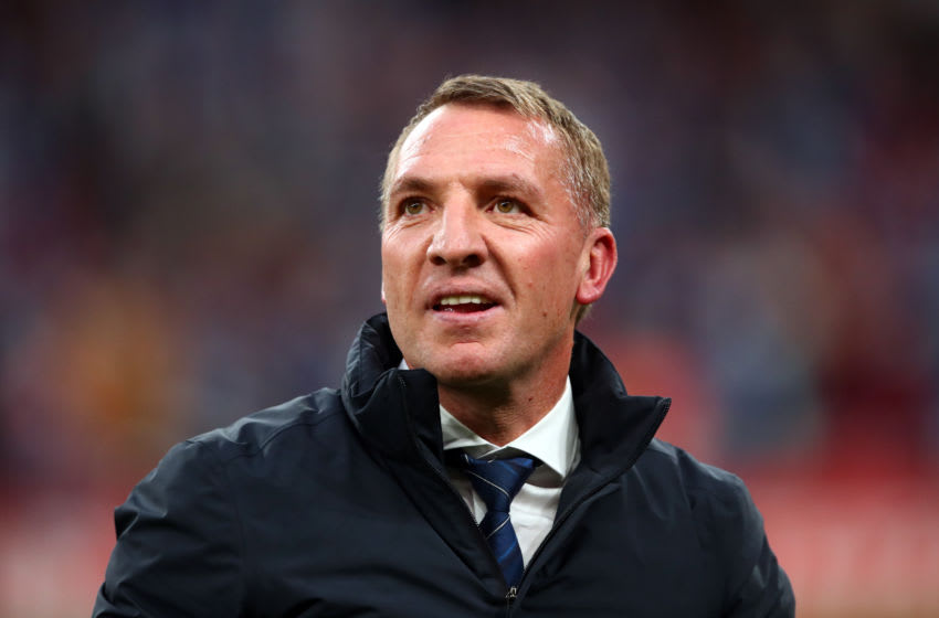 Leicester City manager Brendan Rodgers (Photo by Marc Atkins/Getty Images)