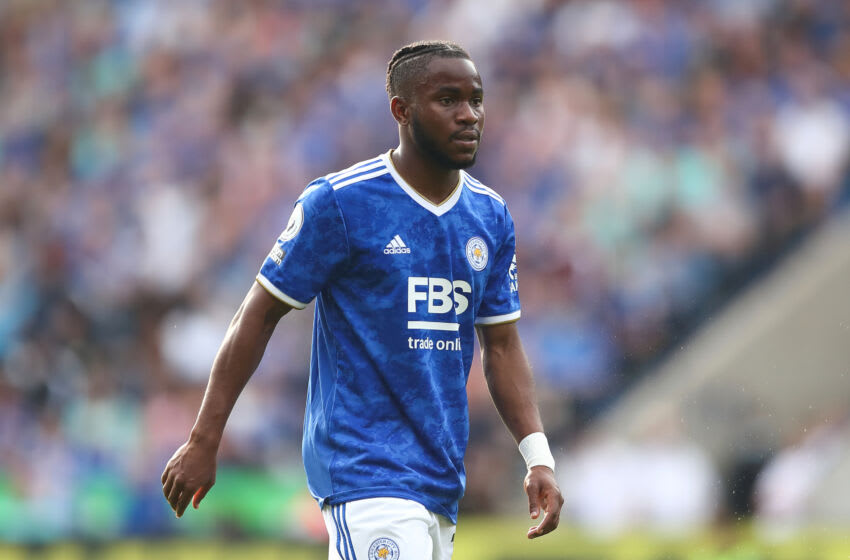 Ademola Lookman of Leicester City (Photo by James Williamson - AMA/Getty Images)