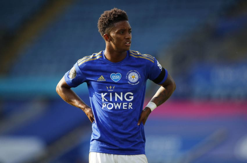 Demarai Gray of Leicester City (Photo by Malcolm Couzens/Getty Images)