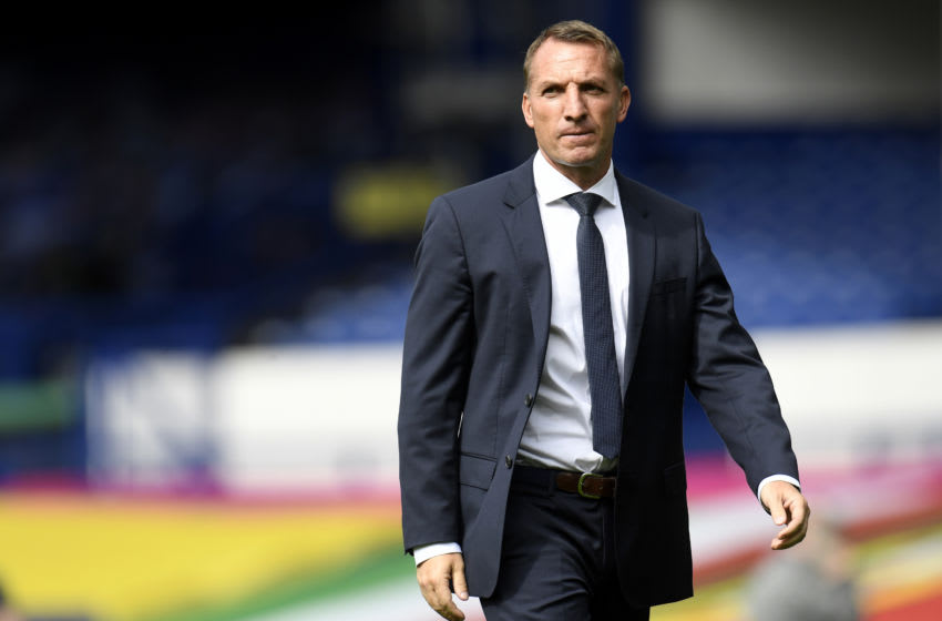 Brendan Rodgers, Leicester City (Photo by Peter Powell/Pool via Getty Images)