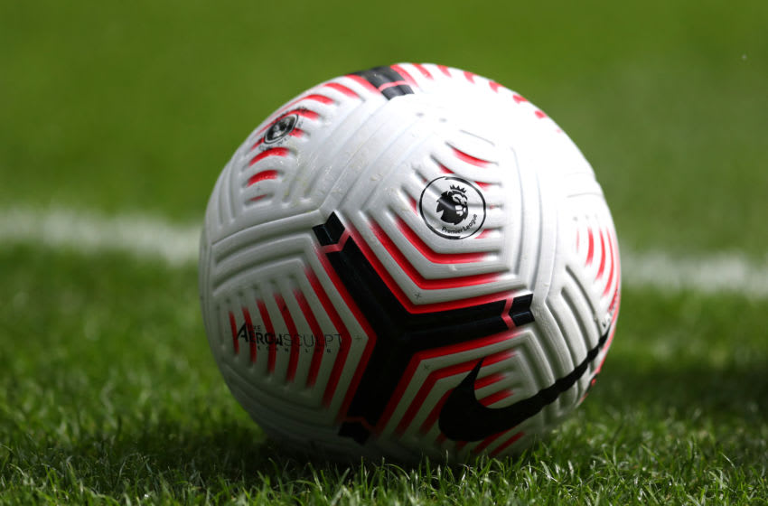 The Premier League Nike Flight balls (Photo by Catherine Ivill/Getty Images)