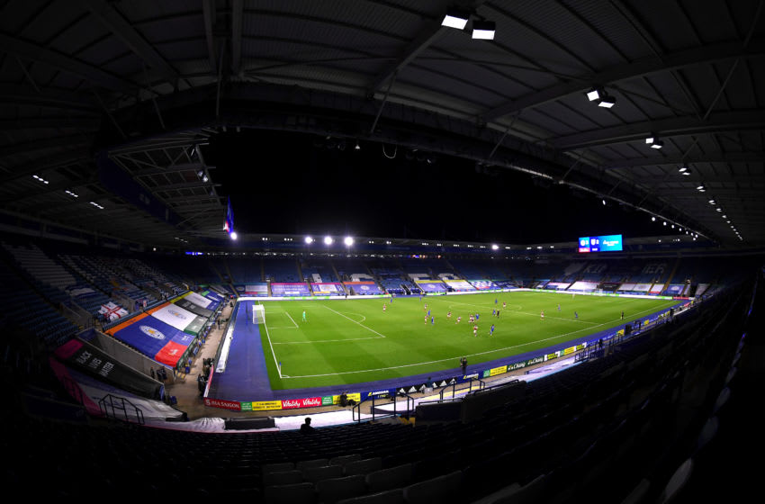Leicester City, The King Power Stadium (Photo by Laurence Griffiths/Getty Images)