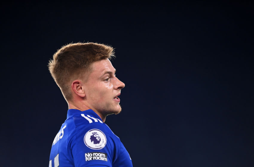 Harvey Barnes of Leicester City (Photo by Laurence Griffiths/Getty Images)