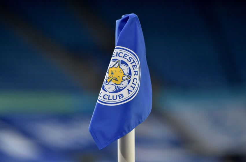 Leicester City corner flag (Photo by Rui Vieira - Pool/Getty Images)