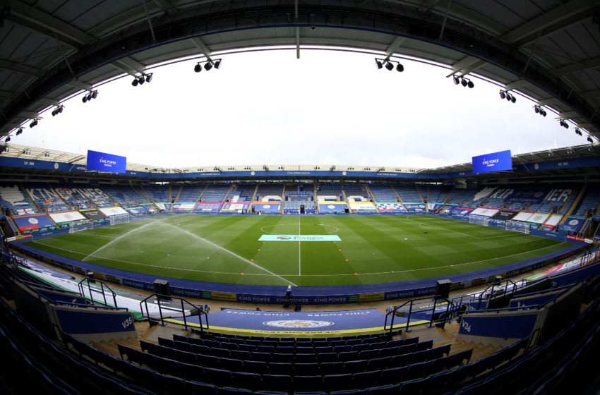 King Power Stadium, Leicester City (Photo by Nigel French - Pool/Getty Images)