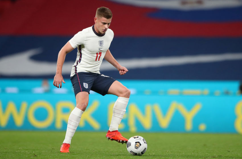 Harvey Barnes of England and Leicester City (Photo by Nick Potts - Pool/Getty Images)