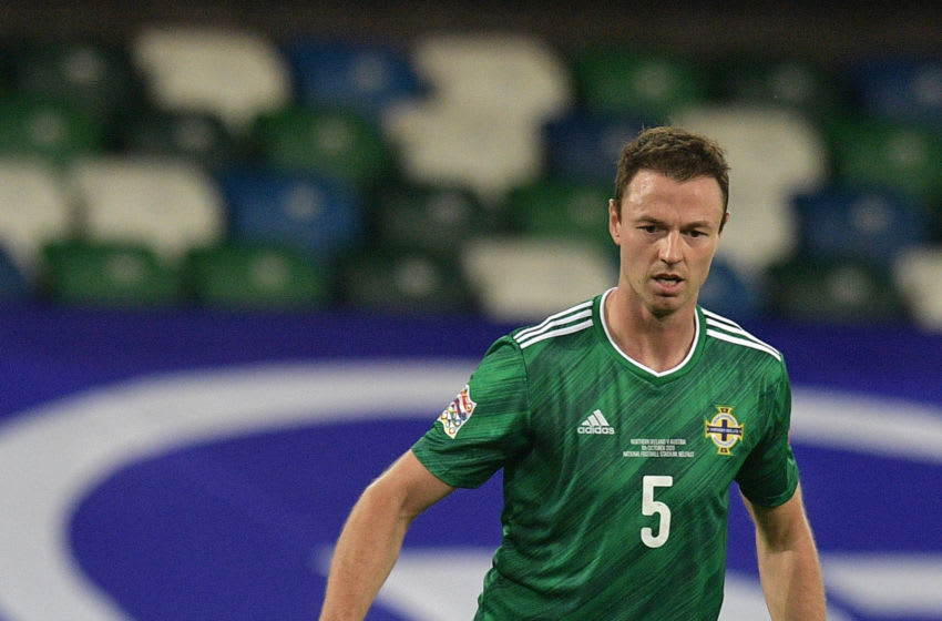 Jonny Evans of Northern Ireland (Photo by Charles McQuillan/Getty Images)