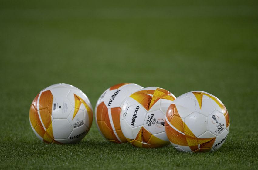 UEFA Europa League match balls (Photo by Visionhaus)