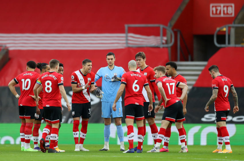 Southampton teammates (Photo by Naomi Baker/Getty Images)