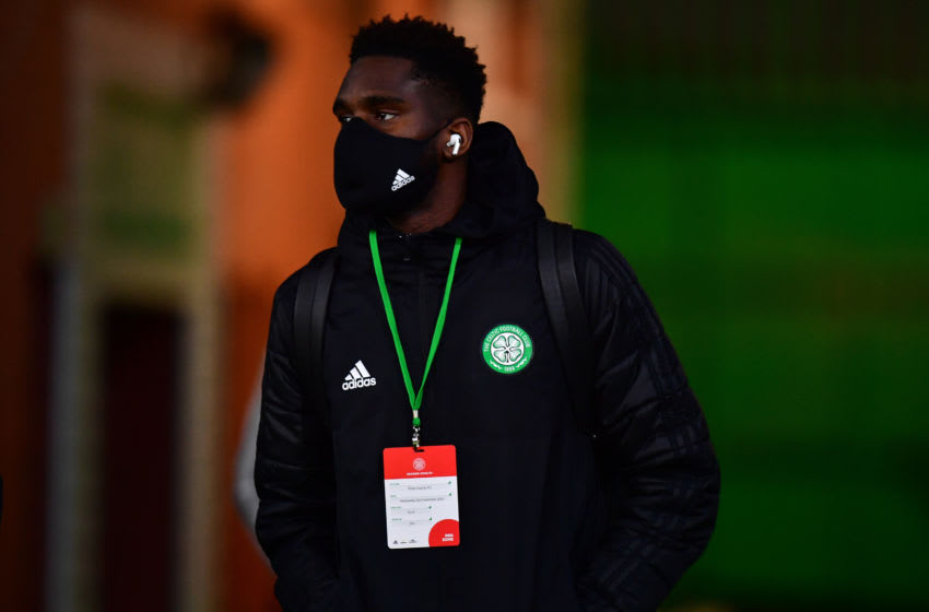 GLASGOW, SCOTLAND - Odsonne Edouard of Celtic (Photo by Mark Runnacles/Getty Images)