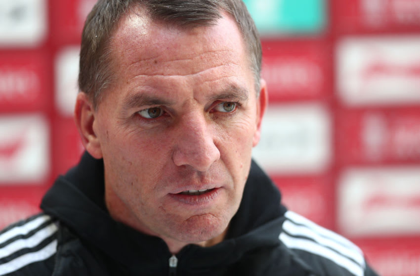 Brendan Rodgers, Manager of Leicester City (Photo by Clive Rose/Getty Images)