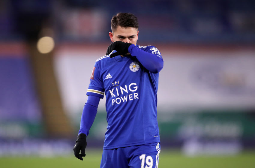 Cengiz Under of Leicester City (Photo by Alex Pantling/Getty Images)