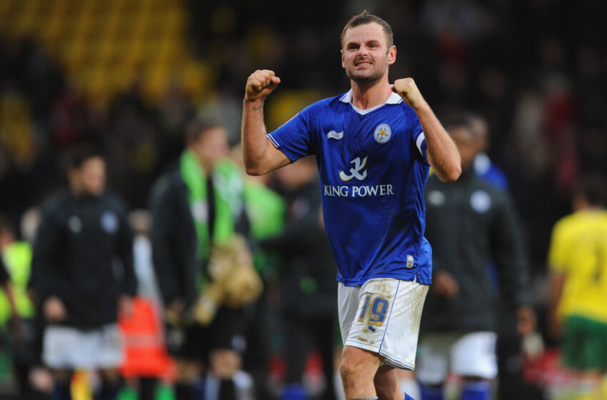Richie Wellens of Leicester City (Photo by Michael Regan/Getty Images)