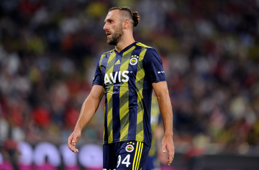 Vedat Muriqi of Fenerbahce (Photo by Norbert Barczyk/PressFocus/MB Media/Getty Images)