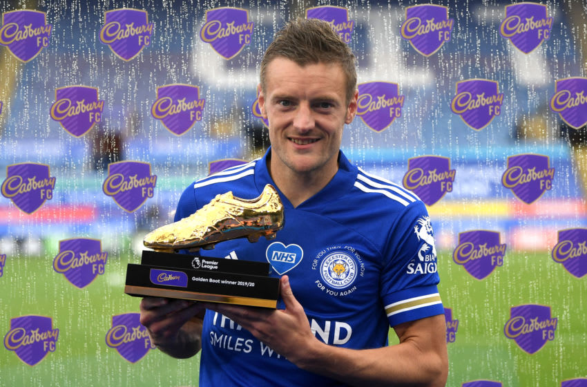 Jamie Vardy of Leicester City (Regan/Getty Images)