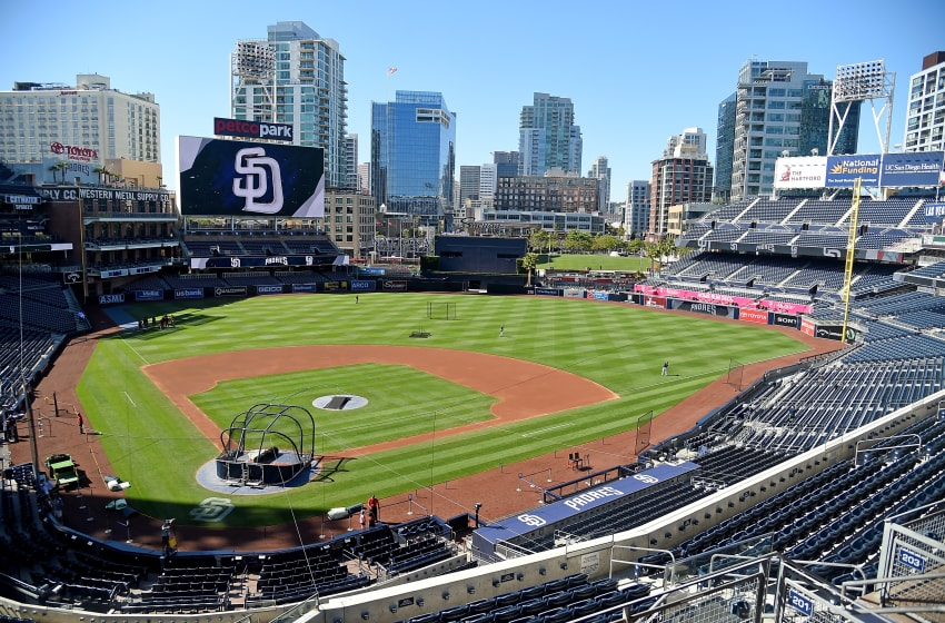 SAN DIEGO, CA - MAY 20: General view of Petco Park before the game between the San Diego Padres and the Arizona Diamondbacks on May 20, 2017 in San Diego, California. (Photo by Jayne Kamin-Oncea/Getty Images)