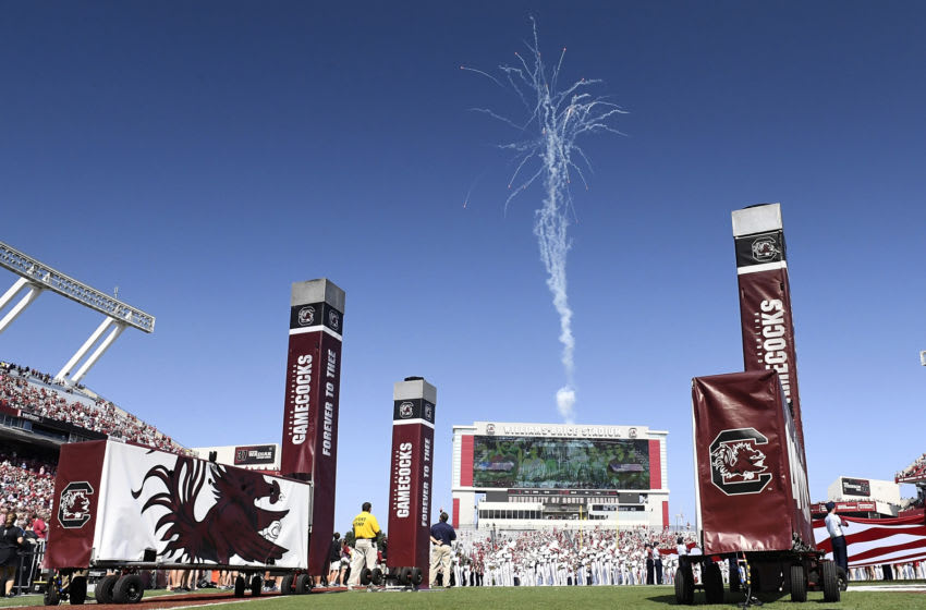 A general view of Williams-Brice Stadium. (Photo by Mike Comer/Getty Images)