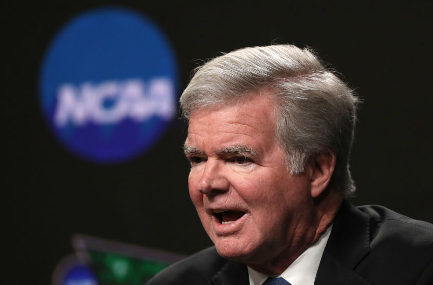 President of the National Collegiate Athletic Association Mark Emmert. (Photo by Maxx Wolfson/Getty Images)