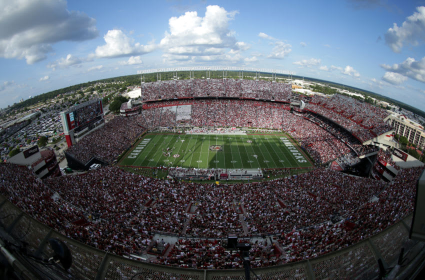 A general view of the game between the South Carolina Gamecocks and Alabama Crimson Tide at Williams-Brice Stadium. (Photo by Streeter Lecka/Getty Images)