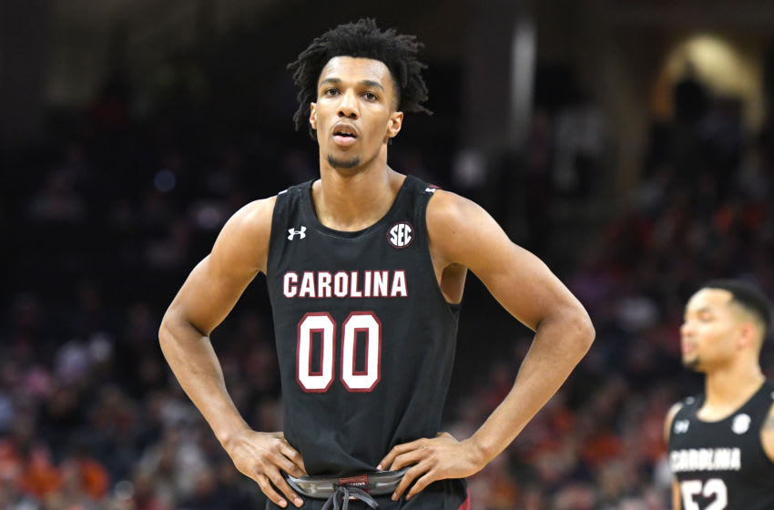 A.J. Lawson #00 of the South Carolina Gamecocks. (Photo by Mitchell Layton/Getty Images)