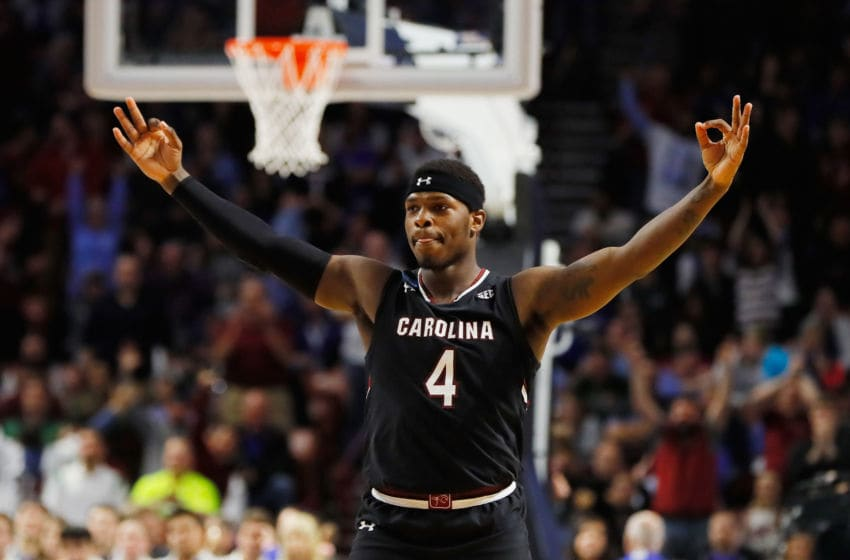 Rakym Felder #4 of the South Carolina Gamecocks. (Photo by Kevin C. Cox/Getty Images)