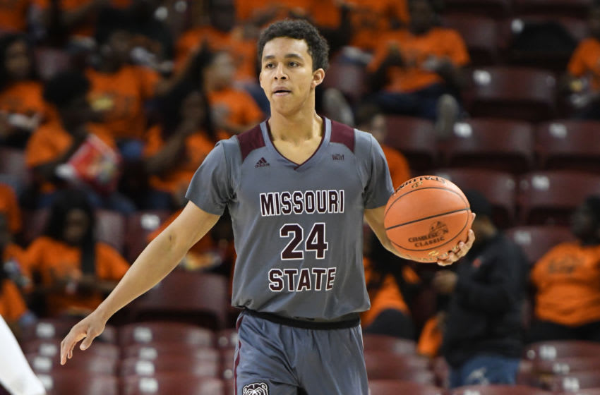 Ford Cooper Jr. #24 of the Missouri State Bears. (Photo by Mitchell Layton/Getty Images)