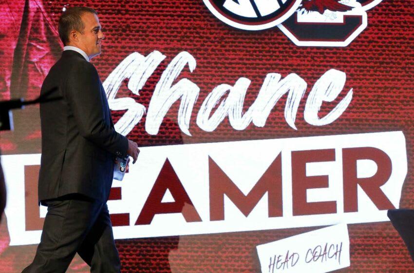 South Carolina Head Coach Shane Beamer. [Staff Photo/Gary Cosby Jr.]