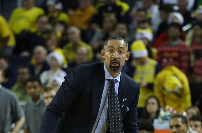 Head coach Juwan Howard (Photo by Gregory Shamus/Getty Images)
