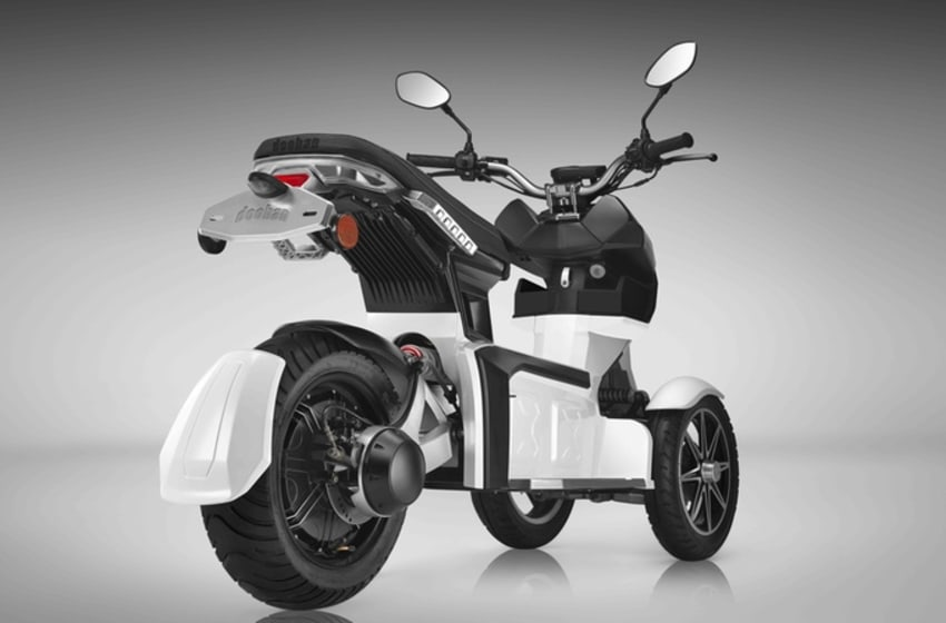 Doohan hopes to introduce their iTank electric scooter to the US market. (Credit: Doohan)