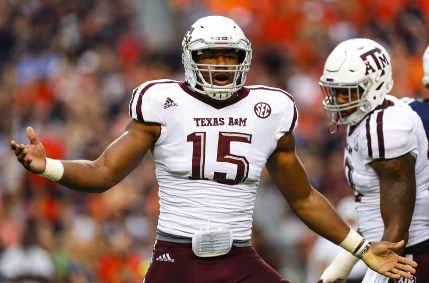 Myles Garrett, Texas A&M Football (Photo by Butch Dill/Getty Images)