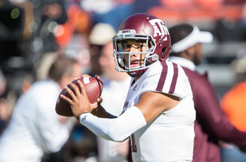 Kellen Mond, Texas A&M Football (Photo by Michael Chang/Getty Images)